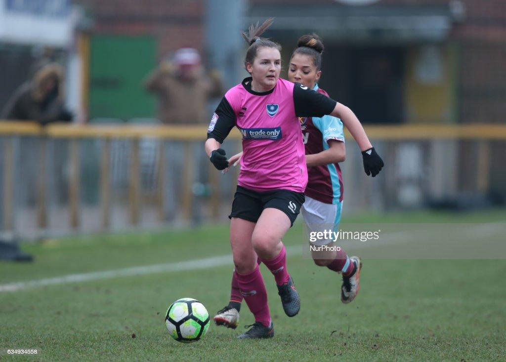 West Ham United Ladies v Portsmouth Ladies : WSL 2
