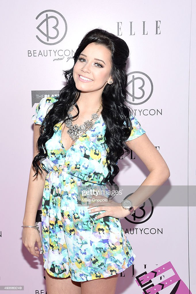Megan Kroh attends the 3rd Annual BeautyCon Summit presented by ELLE Magazine at Pier 36 on May 24, 2014 in New York City.