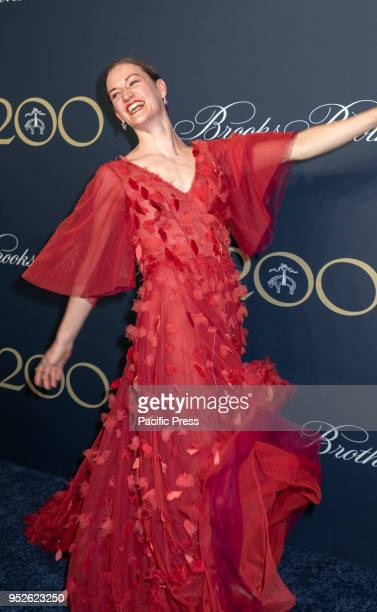 Megan LeCrone attends the Brooks Brothers Bicentennial Celebration at Jazz At Lincoln Center Manhattan