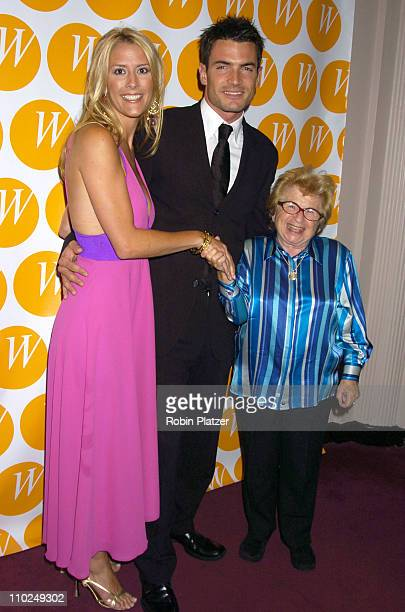 Megan Marshall Aiden Turner and Dr Ruth Westheimer