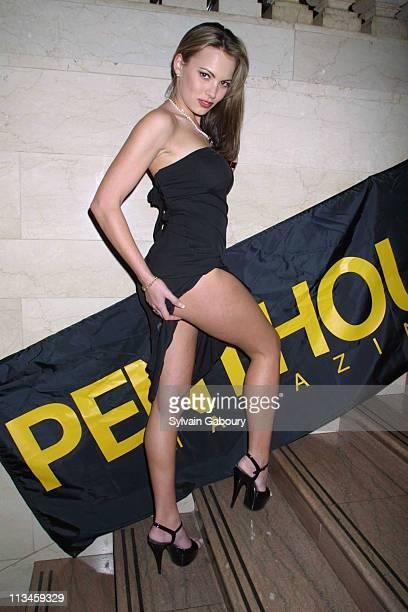 Megan Mason during AlcoholReviewscom/Penthouse Magazine Vodka Festival at Metrazur Grand Central Station in New York New York United States