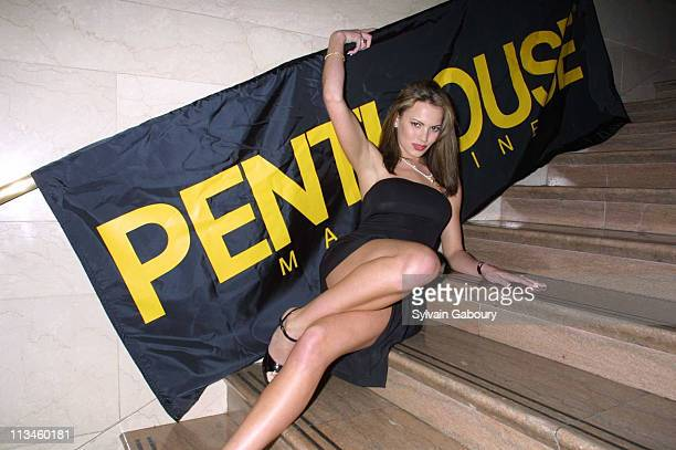 Megan Mason during AlcoholReviewscom/Penthouse Magazine Vodka Festival at Metrazur Grand Central Station in New York New York United States