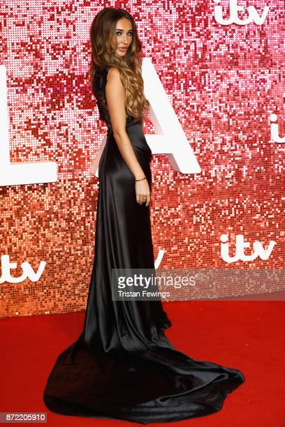 Megan McKenna arriving at the ITV Gala held at the London Palladium on November 9 2017 in London England