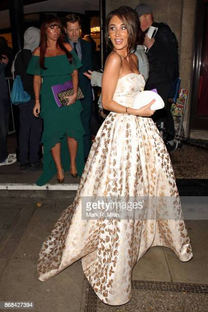 Megan McKenna attending the Pride of Britain Awards on October 30 2017 in London England