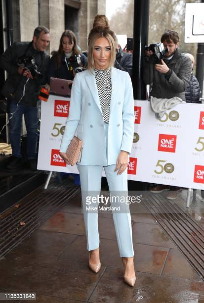 Megan McKenna attends the 2019 'TRIC Awards' held at The Grosvenor House Hotel on March 12, 2019 in London, England.
