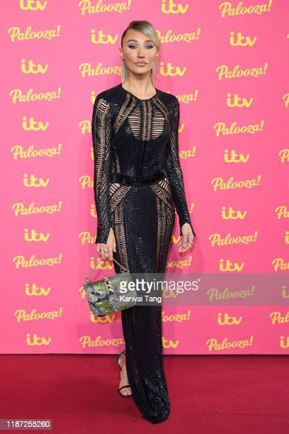Megan McKenna attends the ITV Palooza 2019 at The Royal Festival Hall on November 12 2019 in London England