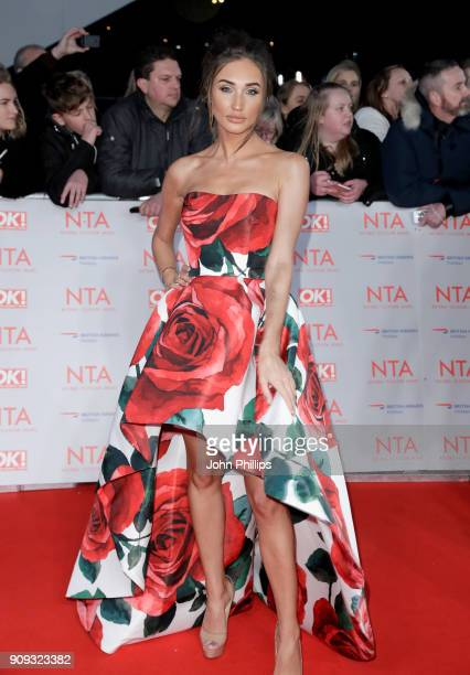 Megan McKenna attends the National Television Awards 2018 at the O2 Arena on January 23 2018 in London England