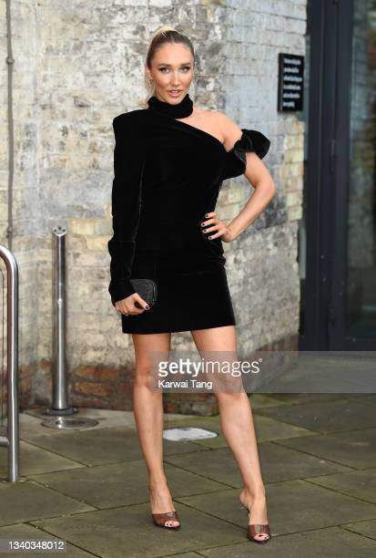 Megan McKenna attends the Sun's Who Cares Wins Awards 2021 at The Roundhouse on September 14, 2021 in London, England.