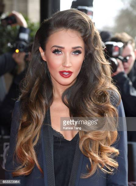 Megan McKenna attends the TRIC Awards 2017 at the Grosvenor House on March 14 2017 in London United Kingdom