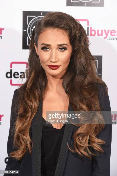 Megan McKenna attends the TRIC Awards 2017 at The Grosvenor House Hotel on March 14 2017 in London England