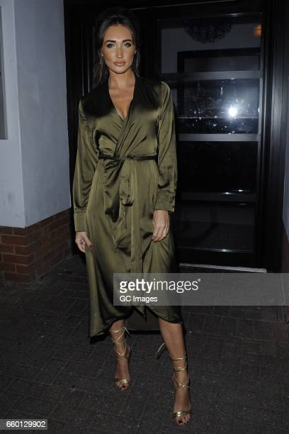 Megan McKenna seen at Faces Nightclub in Chelmsford Essex on March 28 2017 in London England