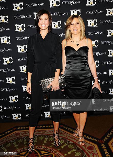 Megan Meany and Fox News TV anchor Alisyn Camerota attend the Broadcasting And Cable 23rd Annual Hall Of Fame Awards dinner at The Waldorf Astoria on...