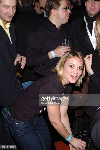 Megan Milner attends AfterParty for the Zang Toi Fall 2005 Fashion Show Supporting The Hemangioma Treatment Foundation at Lotus on February 5 2005 in...