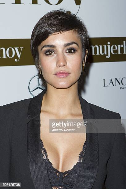 Megan Montaner attends 'Mujer Hoy' Awards 2016 on January 27 2016 in Madrid Spain