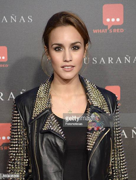 Megan Montaner attends the 'Musaranas' Premiere at the Capitol Cinema on December 17 2014 in Madrid Spain