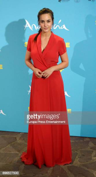 Megan Montaner attends the 'Senor dame paciencia' premiere at Fortuny Palace on June 15 2017 in Madrid Spain