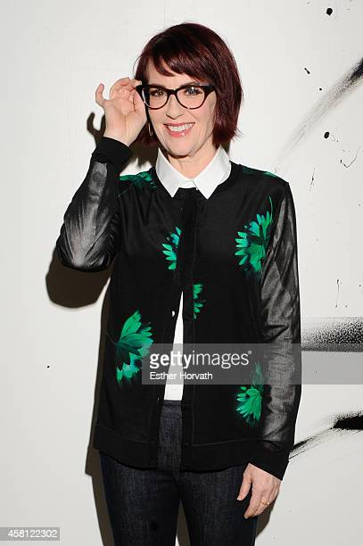 Megan Mullally attends AOL BUILD Speaker Series Presents Megan Mullally at AOL Studios In New York on October 30 2014 in New York City