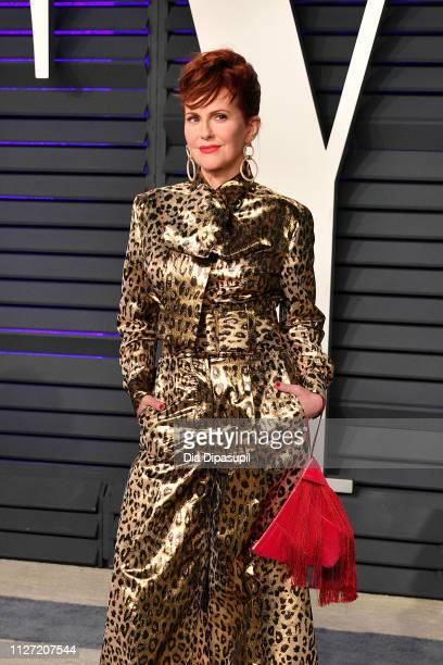 Megan Mullally attends the 2019 Vanity Fair Oscar Party hosted by Radhika Jones at Wallis Annenberg Center for the Performing Arts on February 24...