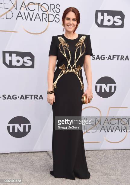 Megan Mullally attends the 25th Annual Screen ActorsGuild Awards at The Shrine Auditorium on January 27 2019 in Los Angeles California 480645