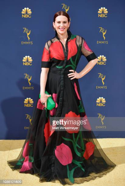 Megan Mullally attends the 70th Emmy Awards at Microsoft Theater on September 17 2018 in Los Angeles California