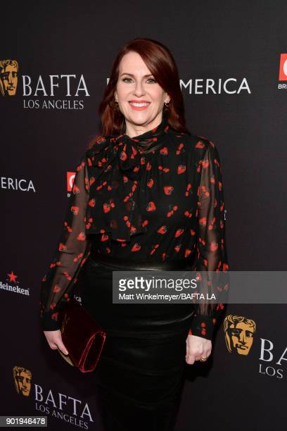 Megan Mullally attends The BAFTA Los Angeles Tea Party at Four Seasons Hotel Los Angeles at Beverly Hills on January 6 2018 in Los Angeles California