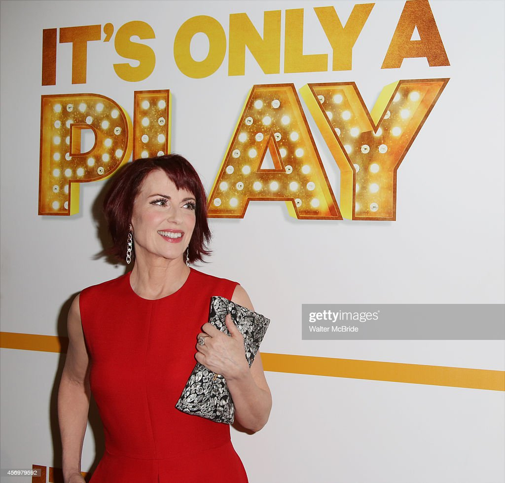 Megan Mullally attends the Broadway Opening Night Performance After Party for 'It's Only A Play' at the Mariott Marquis on October 9, 2014 in New York City.