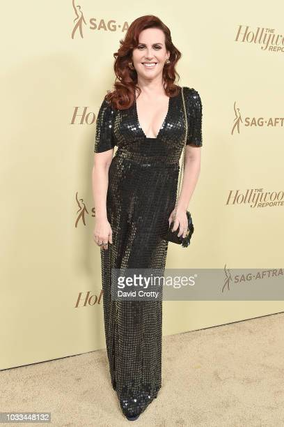 Megan Mullally attends The Hollywood Reporter And SAGAFTRA Celebrate Emmy Award Contenders At Annual Nominees Night at Avra Beverly Hills Estiatorio...