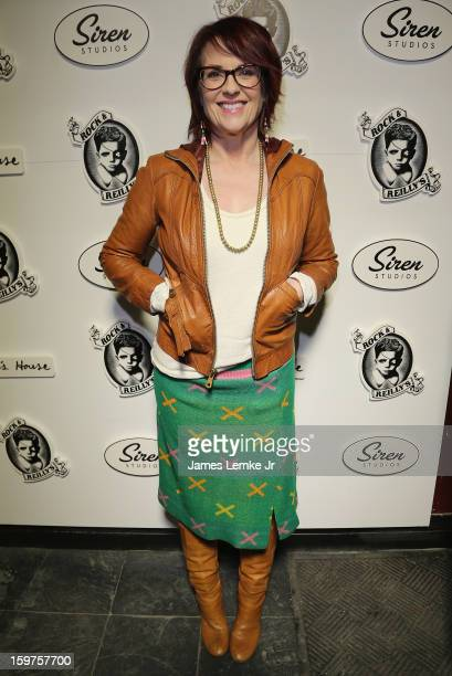 Megan Mullally attends 'Toy's House' Official Cast AfterParty Sponsored By Siren on January 19 2013 in Park City Utah