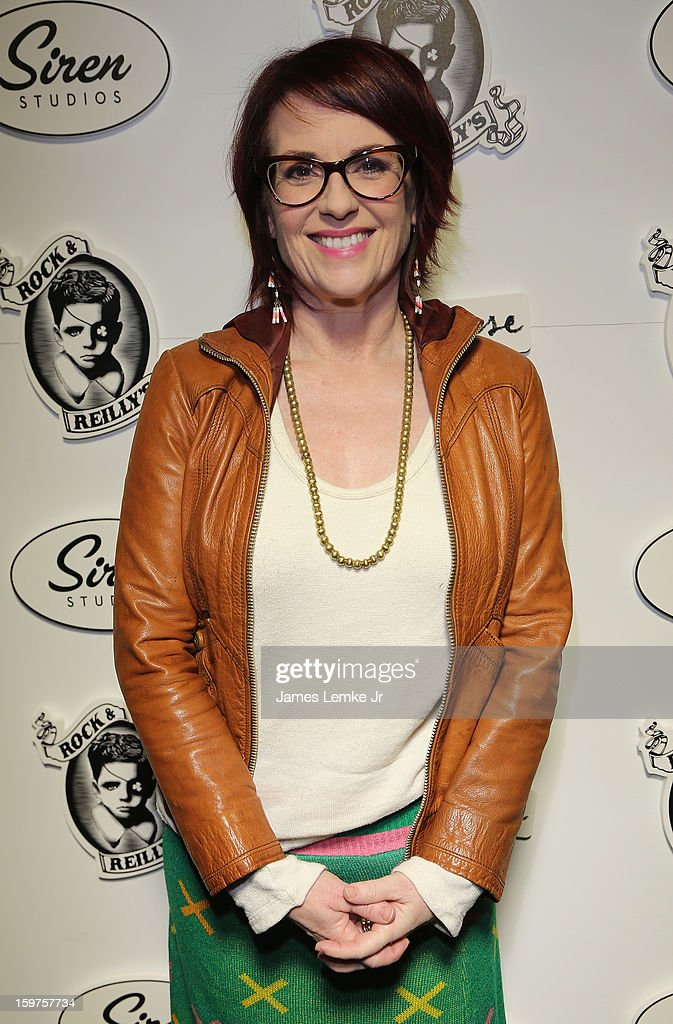 Megan Mullally attends 'Toy's House' Official Cast After-Party Sponsored By Siren on January 19, 2013 in Park City, Utah.