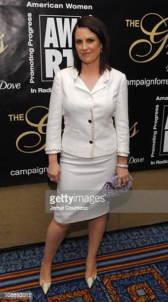 Megan Mullally during 31st Annual American Women in Radio Television Gracie Allen Awards Inside at Mariott Marquis in New York City New York United...