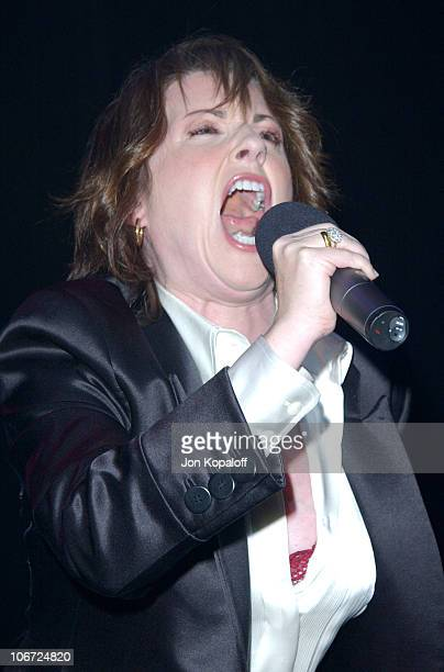 Megan Mullally during DKNY Presents Vanity Fair In Concert To Benefit Step Up Women's Network Concert at Avalon Hollywood in Hollywood California...