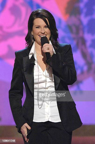 Megan Mullally host during 4th Annual TV Land Awards Show at Barker Hangar in Santa Monica California United States