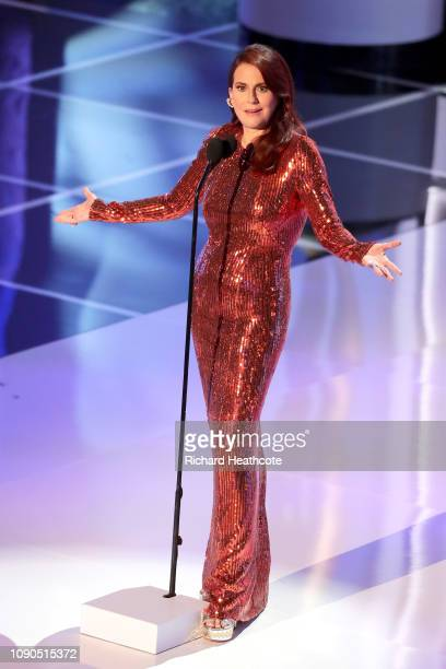 Megan Mullally onstage during the 25th Annual Screen ActorsGuild Awards at The Shrine Auditorium on January 27 2019 in Los Angeles California 480468