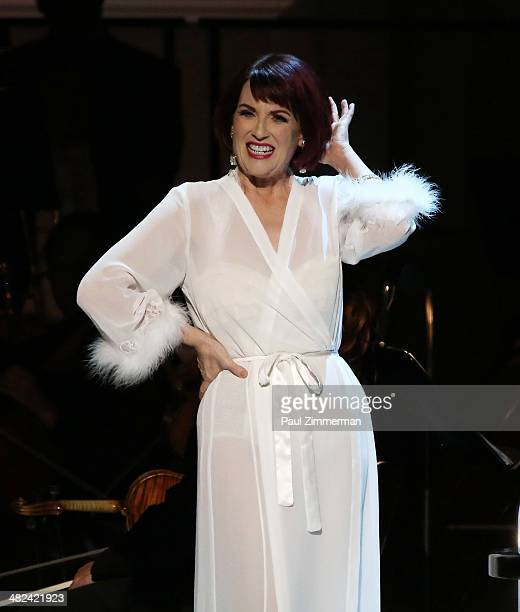 Megan Mullally performs 'Guys And Dolls' at Carnegie Hall on April 3 2014 in New York City