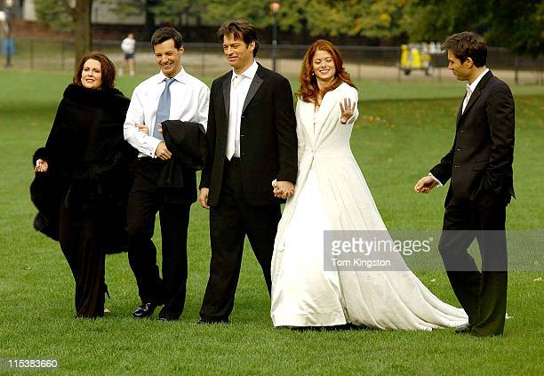 Megan Mullally Sean Hayes Harry Connick Jr Debra Messing and Eric McCormac