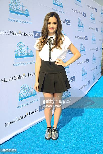 Megan Nicole arrives at Mattel Children's Hospital UCLA 16th Annual Party On The Pier Fundraiser at Santa Monica Pier on September 27 2015 in Santa...