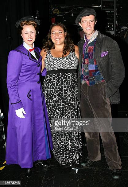 Megan Osterhaus as 'Mary Poppins' Jo Frost The Supernanny and Gavin Lee as 'Bert the chimney sweep'