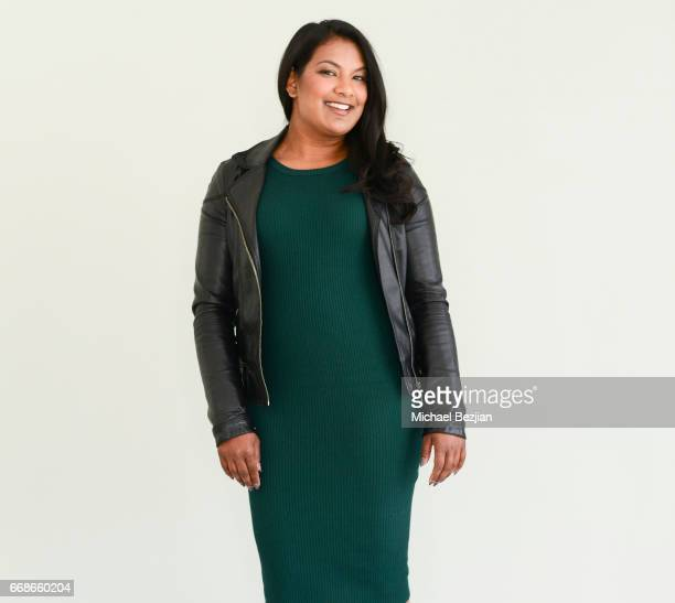 Megan Pooran poses for portrait at The Artists Project on April 12 2017 in Los Angeles California