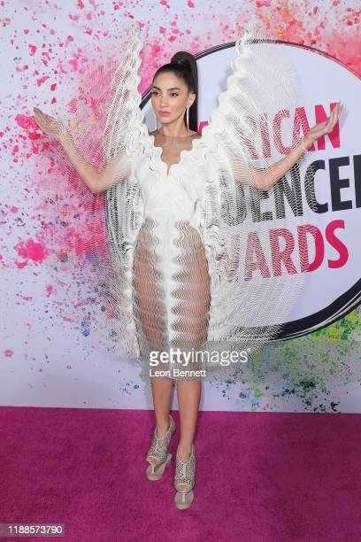 Megan Pormer attends 2019 American Influencer Awards at Dolby Theatre on November 18 2019 in Hollywood California