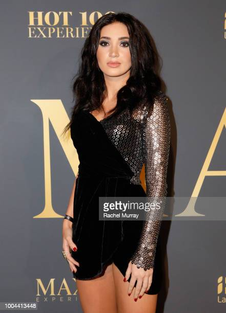 Megan Pormer attends The 2018 Maxim Hot 100 Party at Hollywood Palladium on July 21 2018 in Los Angeles California