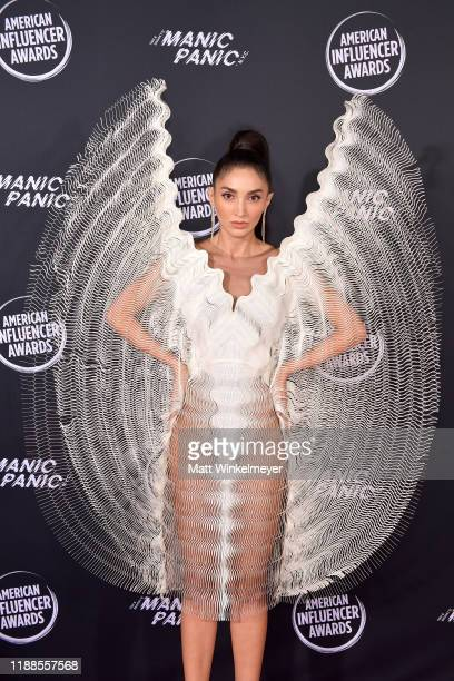 Megan Pormer attends the 2nd Annual American Influencer Awards at Dolby Theatre on November 18 2019 in Hollywood California