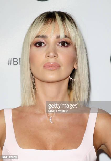 Megan Pormer attends the Beautycon Festival LA 2018 at the Los Angeles Convention Center on July 14 2018 in Los Angeles California