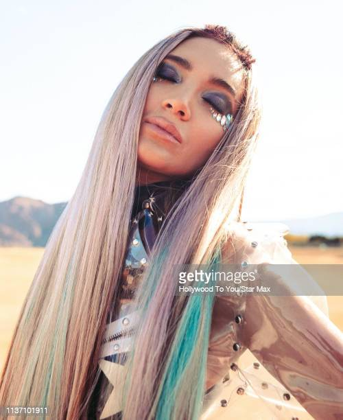 Megan Pormer is seen at Coachella on April 14 2019 in Indio California