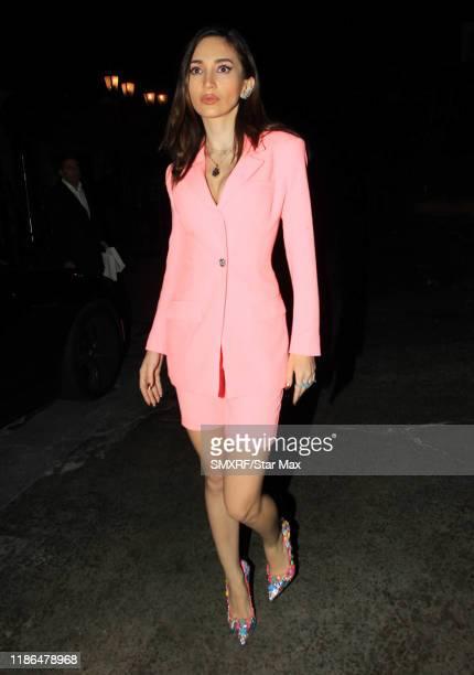 Megan Pormer is seen on December 3 2019 in Los Angeles California