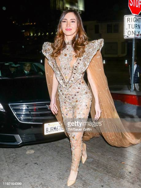 Megan Pormer is seen on January 06, 2020 in Los Angeles, California.