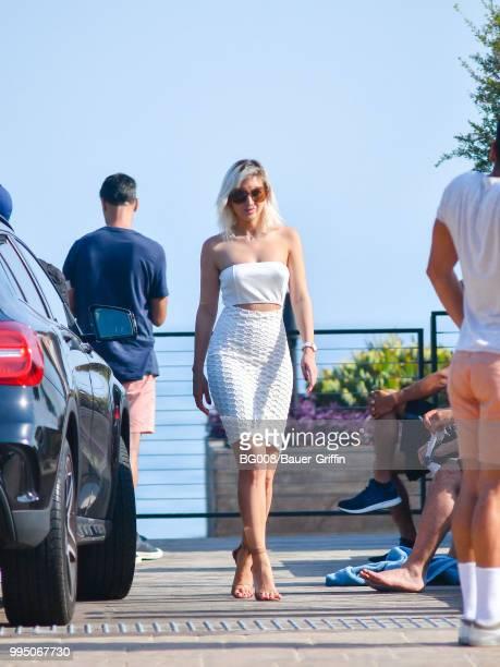 Megan Pormer is seen on July 09 2018 in Los Angeles California