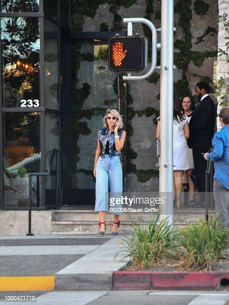 Megan Pormer is seen on July 16 2018 in Los Angeles California