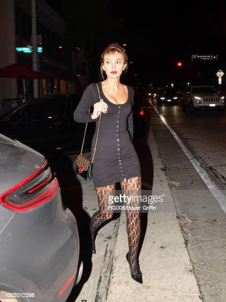 Megan Pormer is seen on July 20 2018 in Los Angeles California