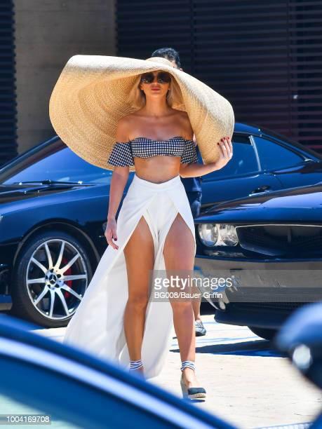 Megan Pormer is seen on July 22 2018 in Los Angeles California