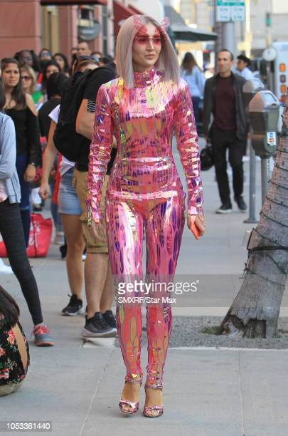 Megan Pormer is seen on October 2 2018 in Los Angeles CA